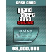 Grand Theft Auto V GTA: Megalodon Shark Cash Card  Rockstar SocialClub (Region Free)