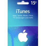iTunes Card (EUR 15 / for DE accounts only) (Europe)