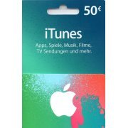 iTunes Card (EUR 50 / for DE accounts only) (Europe)