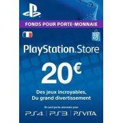 PSN Card 20 EUR | Playstation Network France digital (France)