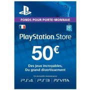 Playstation Network Card 50 EUR | France Account (France)
