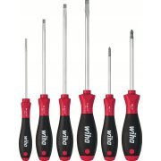 Wiha SoftFinish slotted/Phillips screwdriver set, 6 pcs. (Germany)