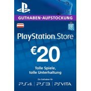 Playstation Network Card 20 EUR | Austria Account (Austria)