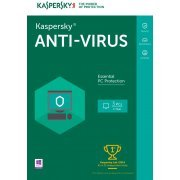 Kaspersky Anti-Virus 2016, 3 PC, 1 Year (Europe)
