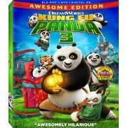 Kung Fu Panda 3 (Awesome Edition) [Blu-ray+DVD+Digital HD] (US)