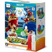 Mario & Sonic at the Rio 2016 Olympic Games [Wii Remote Control Plus Set] (Red & White) (Japan)