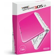 New Nintendo 3DS LL (Pink x White) (Japan)