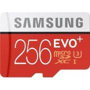 Samsung microSDXC EVO Plus 256GB, UHS-I U3/Class 10
