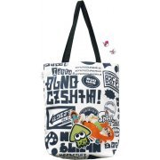 Splatoon Ikasu Tote Bag with Can Badge (Graffiti) (Japan)