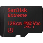 SanDisk Extreme microSDXC 128GB, UHS-I U3/Class 10