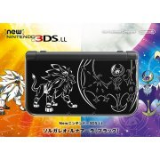 New Nintendo 3DS LL [Solgaleo & Lunala Edition] (Black) (Japan)