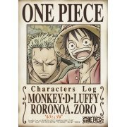 One Piece Characters Log - Luffy And Zoro (Japan)