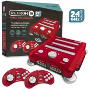 SNES/ Genesis/ NES Hyperkin RetroN 3 Gaming Console 2.4 GHz Edition (Laser Red) (US)