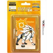 Pocket Monster Card Case 24 for 3DS (Solgaleo) (Japan)