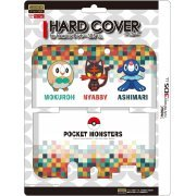 Pocket Monster Hard Cover for New 3DS LL (Tabidachi no Sanbiki) (Japan)