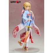 Fate/Stay Night Unlimited Blade Works 1/7 Scale Pre-Painted Figure: Saber Haregi Ver. (Japan)