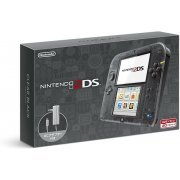 Nintendo 2DS (Clear Black) (Japan)