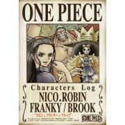 One Piece Characters Log - Robin / Franky / Brook (Japan)
