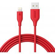 Anker PowerLine Lightning Cable 6ft / 1.8m (Red)