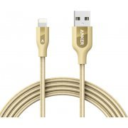 Anker PowerLine+ Lightning Cable 6ft / 1.8m (Gold)