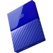 Western Digital My Passport Portable 2TB, USB 3.0 (Blue)