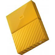 Western Digital My Passport Portable 2TB, USB 3.0 (Yellow)