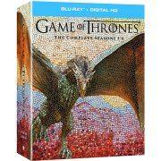 Game of Thrones: The Complete Seasons 1-6 [Blu-ray+Digital HD] (US)