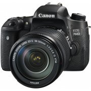 Canon EOS 760D with EF-S 18-135mm IS STM Lens