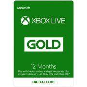 Xbox Live Gold 12 Month Membership Hong Kong (Hong Kong)
