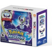 Pokemon Moon with bonus Lunala Figure (US)