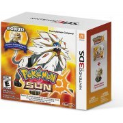 Pokemon Sun with bonus Solgaleo Figure (US)