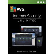 AVG Internet Security 2017, Unlimited Devices, 2 Year (Region Free)