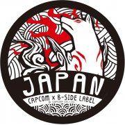 CAPCOM x B-SIDE Label Ōkami Sticker: Amaterasu Ring (Japan)