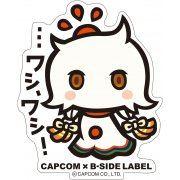 CAPCOM x B-SIDE Label Megami Meguri Sticker: Amaterasu-omikami (Japan)