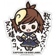 CAPCOM x B-SIDE Label Megami Meguri Sticker: Tsukumo (Japan)