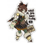 CAPCOM x B-SIDE Label Monster Hunter XX Sticker: Mirushii (Japan)