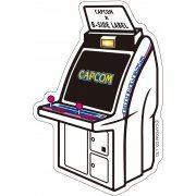 CAPCOM x B-SIDE Label Sticker: Arcade Impress (Japan)