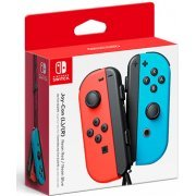 Nintendo Switch Joy-Con Controllers (Neon Red/Blue) (Europe)