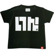 Splatoon - Ika Logo T-shirt Black - Kids Size 140cm (Japan)