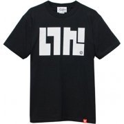Splatoon - Ika Logo T-shirt Black (S Size) (Japan)
