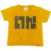 Splatoon - Ika Logo T-shirt Beginner Mustard Yellow - Kids Size 130cm (Japan)