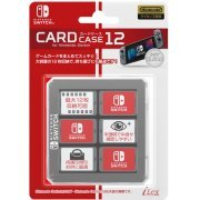 Nintendo Switch Card Case 12 (Clear) (Japan)