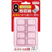 Nintendo Switch Card Case 8 (Pink) (Japan)