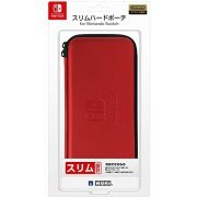 Slim Hard Pouch for Nintendo Switch (Red) (Japan)