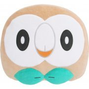Pocket Monsters Mochifuwa Cushion: Rowlet (Face) (Japan)