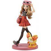 ARTFX J Pokemon Series 1/8 Scale Pre-Painted Figure: Serena with Fennekin (Re-run) (Japan)