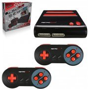 RetroDuo SNES & NES Dual 2 in 1 System (Red/Black)