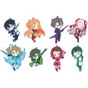 Toys Works Collection Niitengomu! Sword Art Online The Movie -Ordinal Scale- Straps (Set of 8 pieces) (Japan)