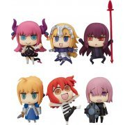 Learning with Manga! Fate/Grand Order Collectible Figures (Set of 6 pieces) (Re-run) (Japan)