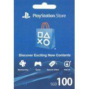 PSN Card 100 SGD   Playstation Network Singapore (Singapore)